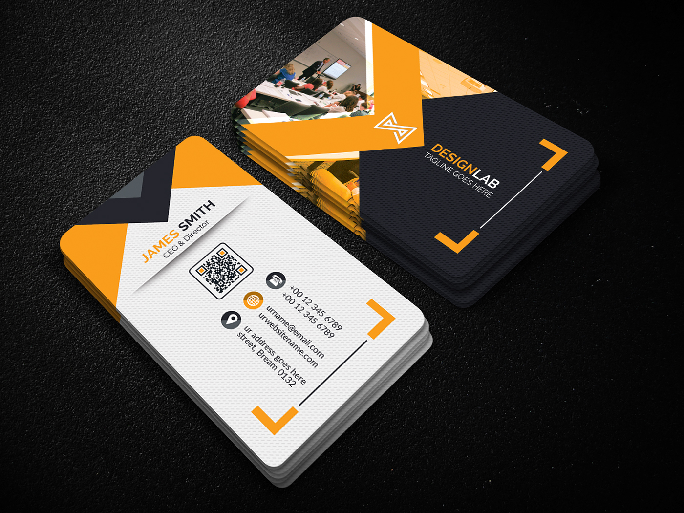 design your 2 sided amazing business card in 10hr for $5 - SEOClerks