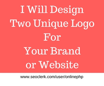 Get Uniquely Design Logo for your Brand,Company Or Website with source file