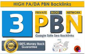 3 High Quality PA/DA TF/CF Homepage PBN Posts To Skyrocket you SERP