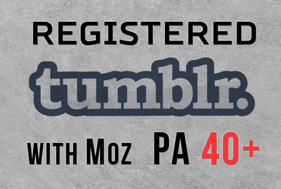 Skyrocket Your Ranking With 5 Register Expired Tumblr Pa 40 Plus With 50+ Backlinks