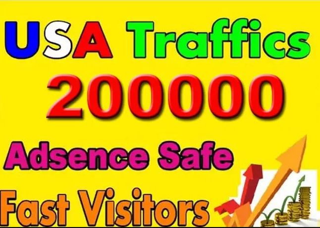 Drive USA Targeted Website,  Traffic, 2000 Daily Visitors