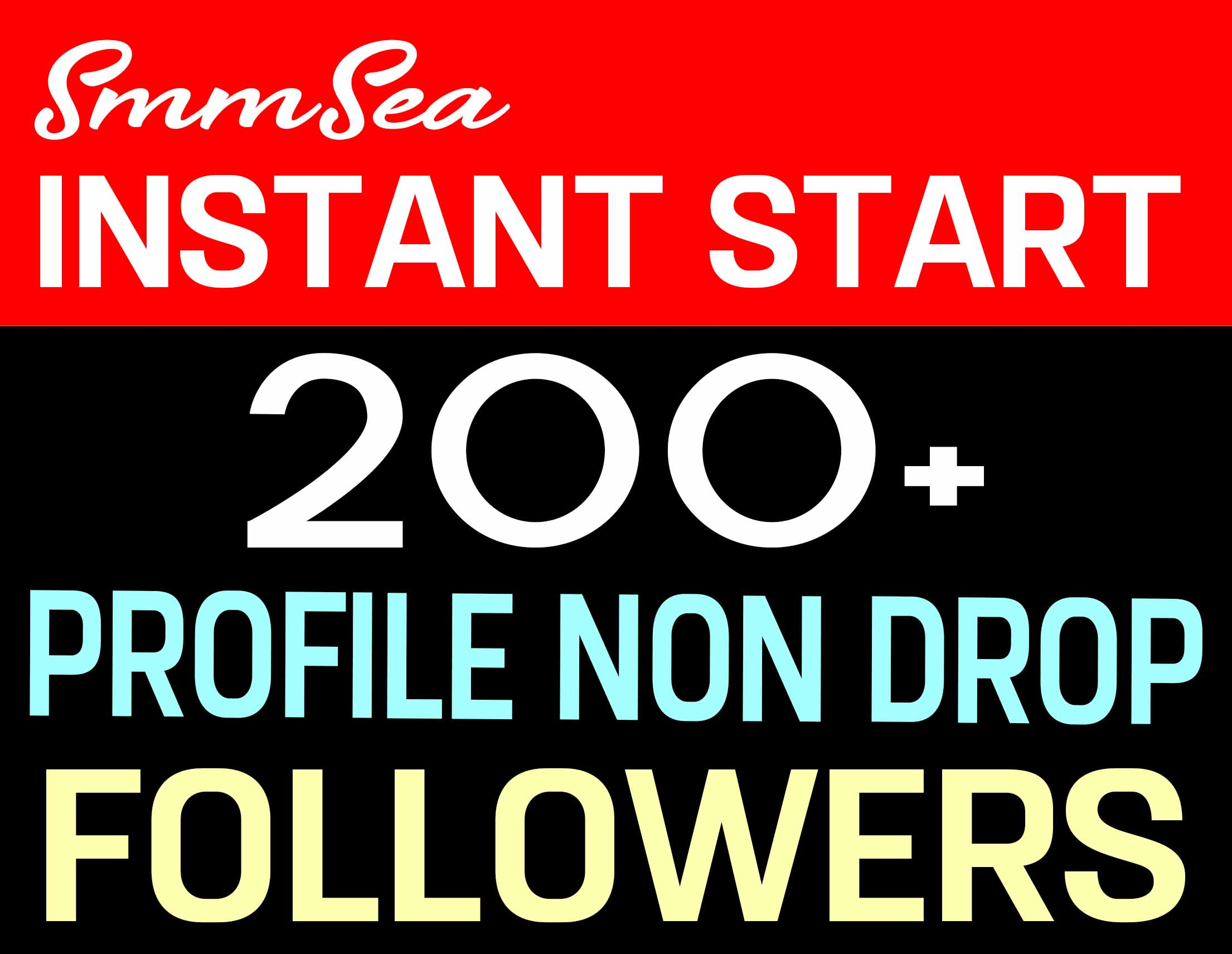 ADD 200+ PROFILE FOLLOWERS HIGH QUALITY AND NON DROP - INSTANTLY