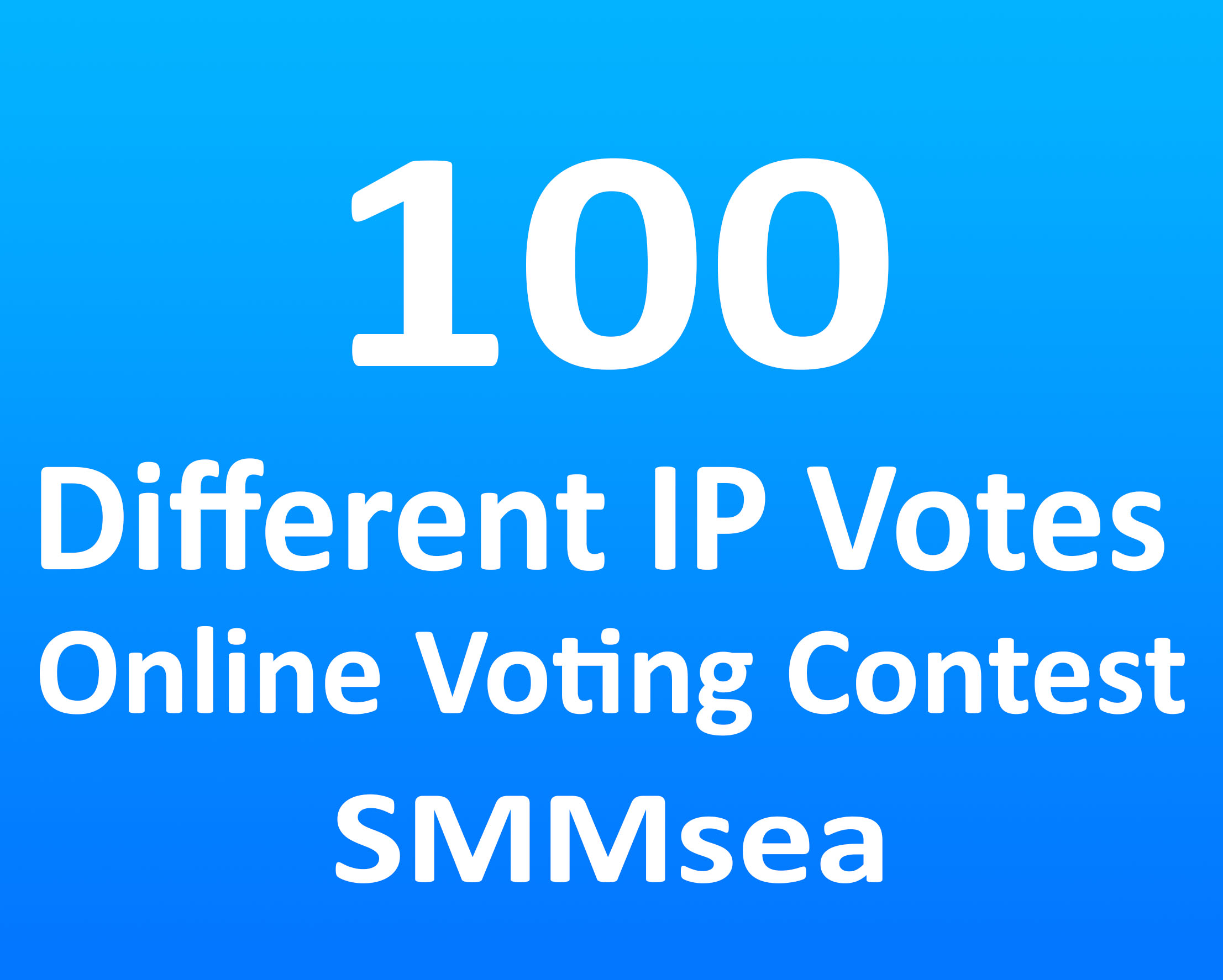 Give 100 Different IP Votes For Any Online Voting Contest