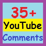 35  Custom comments with profile picture supper fast delivery
