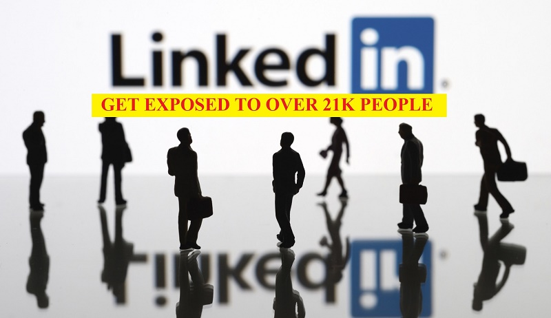 Promote You Or Your Posts On My 21k Linkedin Profile