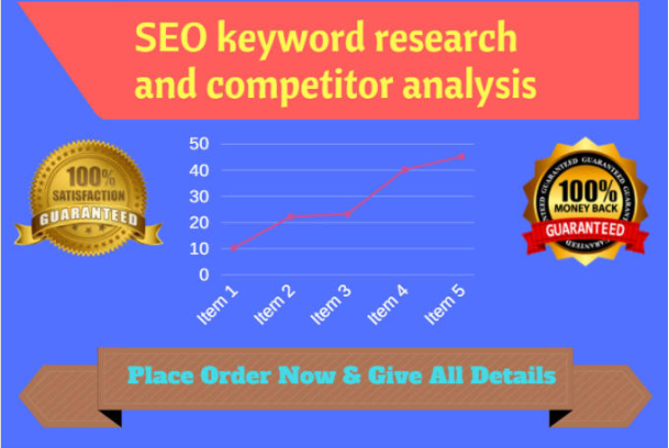 provide Best Keyword Research And Competitor Analysis