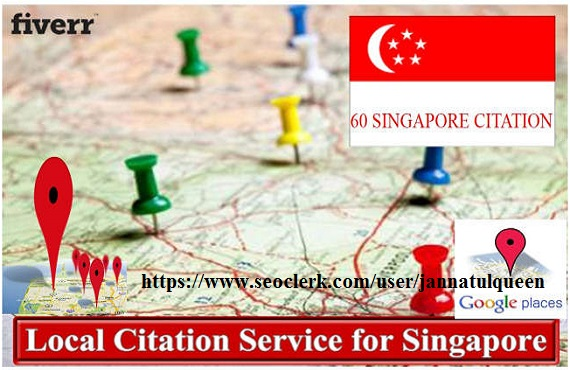 Create 40 Live Local Citation For Singapore