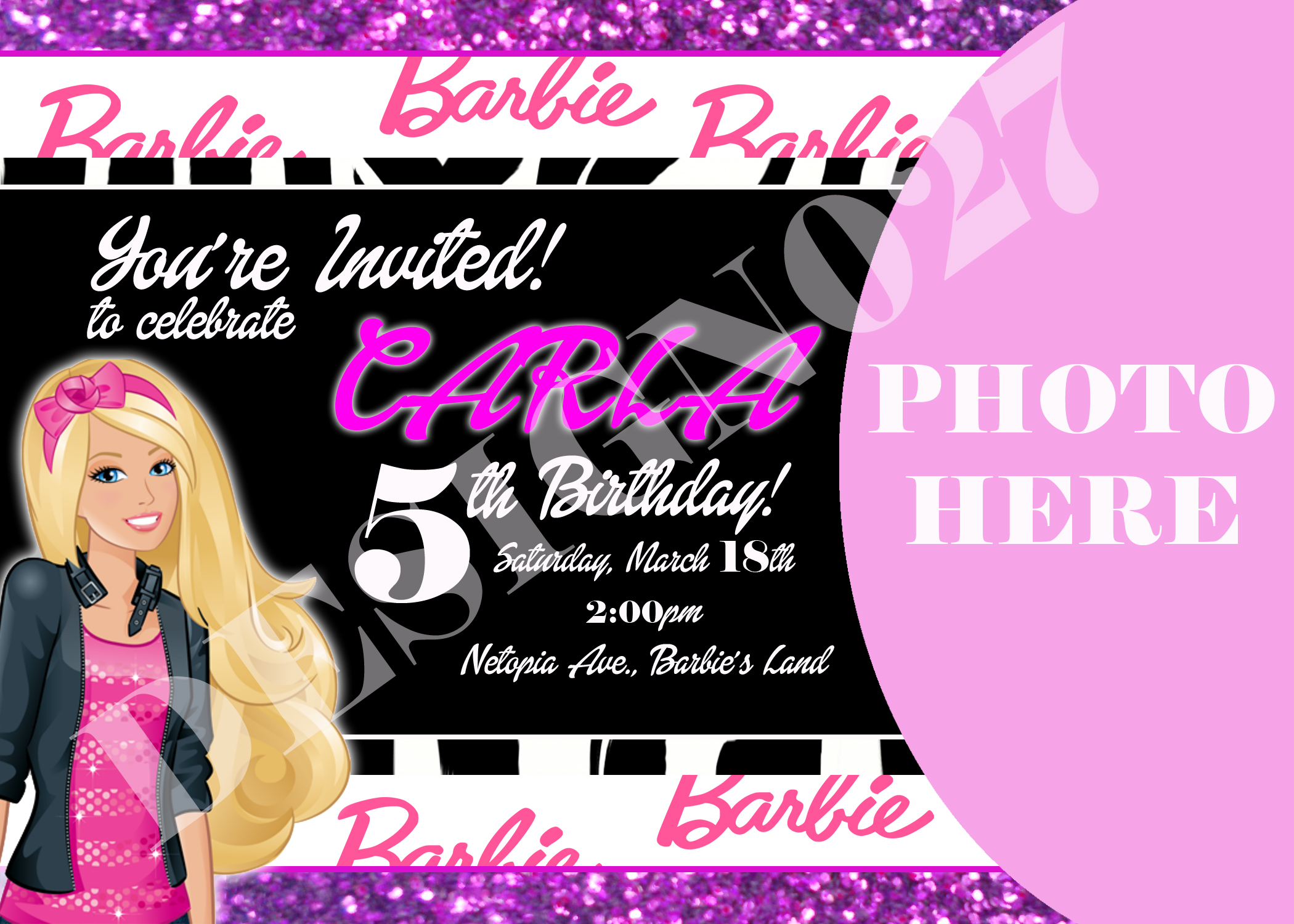 Invitation Card and Banners