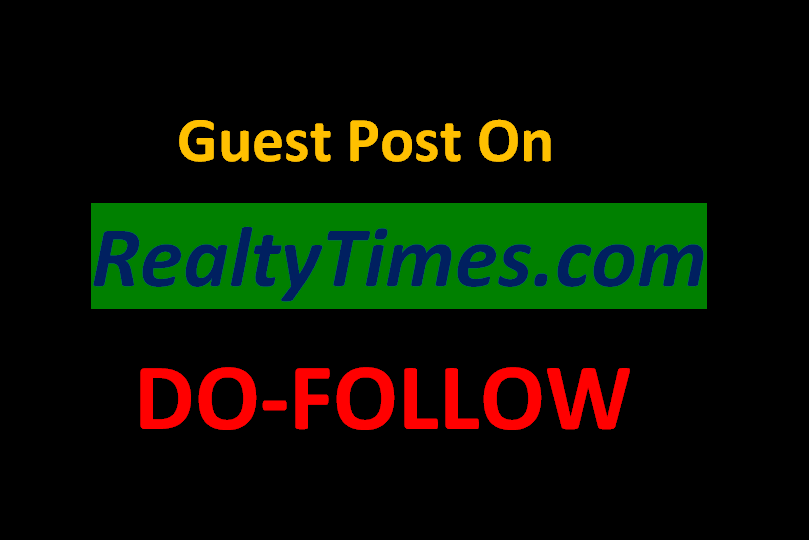 place article on realtytimes. com with DA -68 PA-74 Do follow backlink