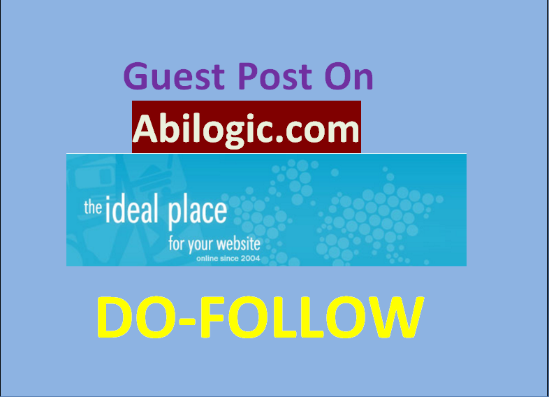 Publish guest post on abilogic. com