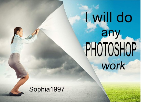 job do any PHOTOSHOP