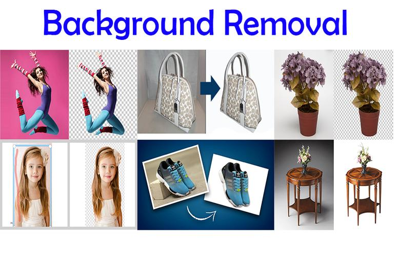 Photo Retouching and Background Removal for 5 photos