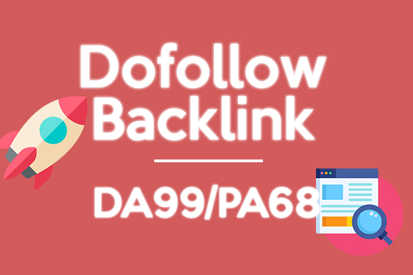 Permanent Reddit Dofollow DA99 Backlink