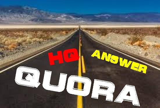 Get targeted traffic with 20 Quora Answers