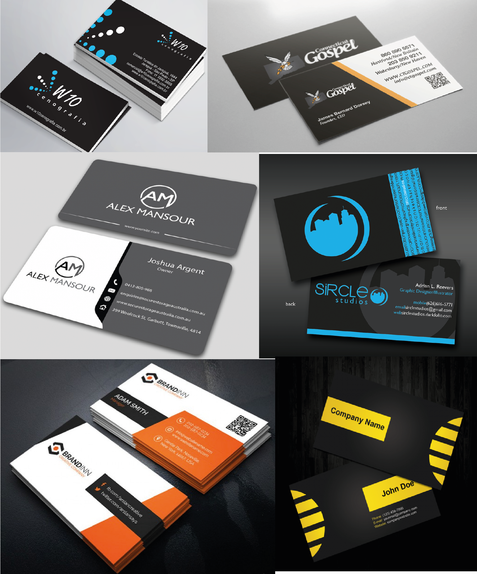 Design business cards + letterhead with unlimited revision for $10 ...
