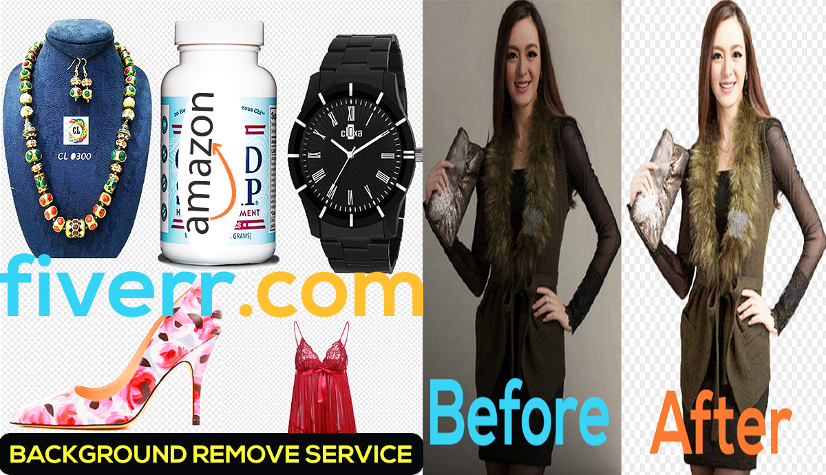 I will do amazon products and any20 picture background removal