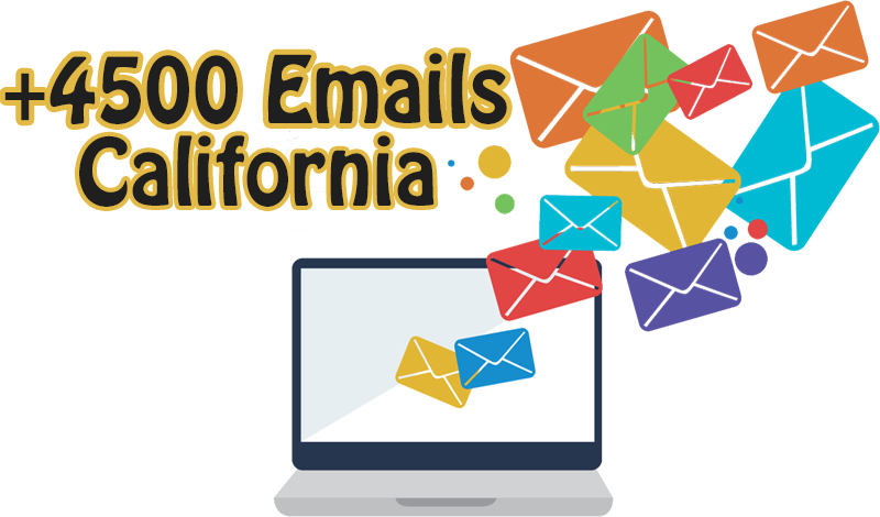 Give You 5000 Email for the Companies From California