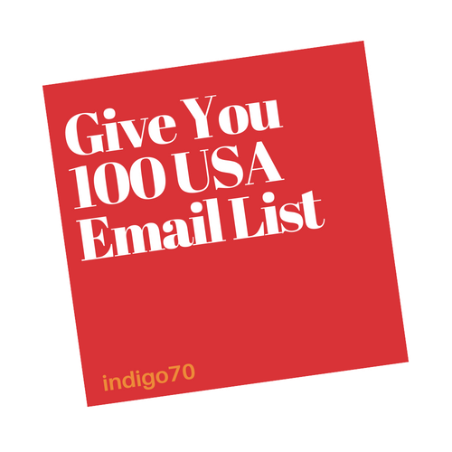 Give You 100 USA Email List