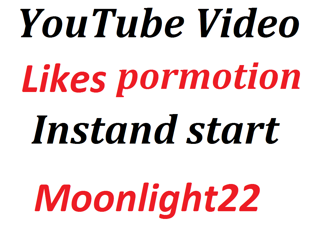 Adding 100 likes or 30 cumments Video Promotion Social Media Marketing Instant start And Complete in 12-24 Hours