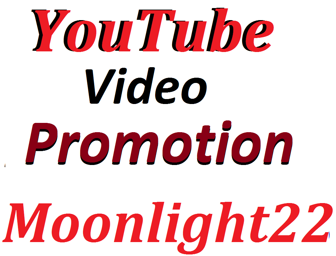 YouTube Video Promotion Social Media Marketing Instant start And  Complete in 12-24 Hours