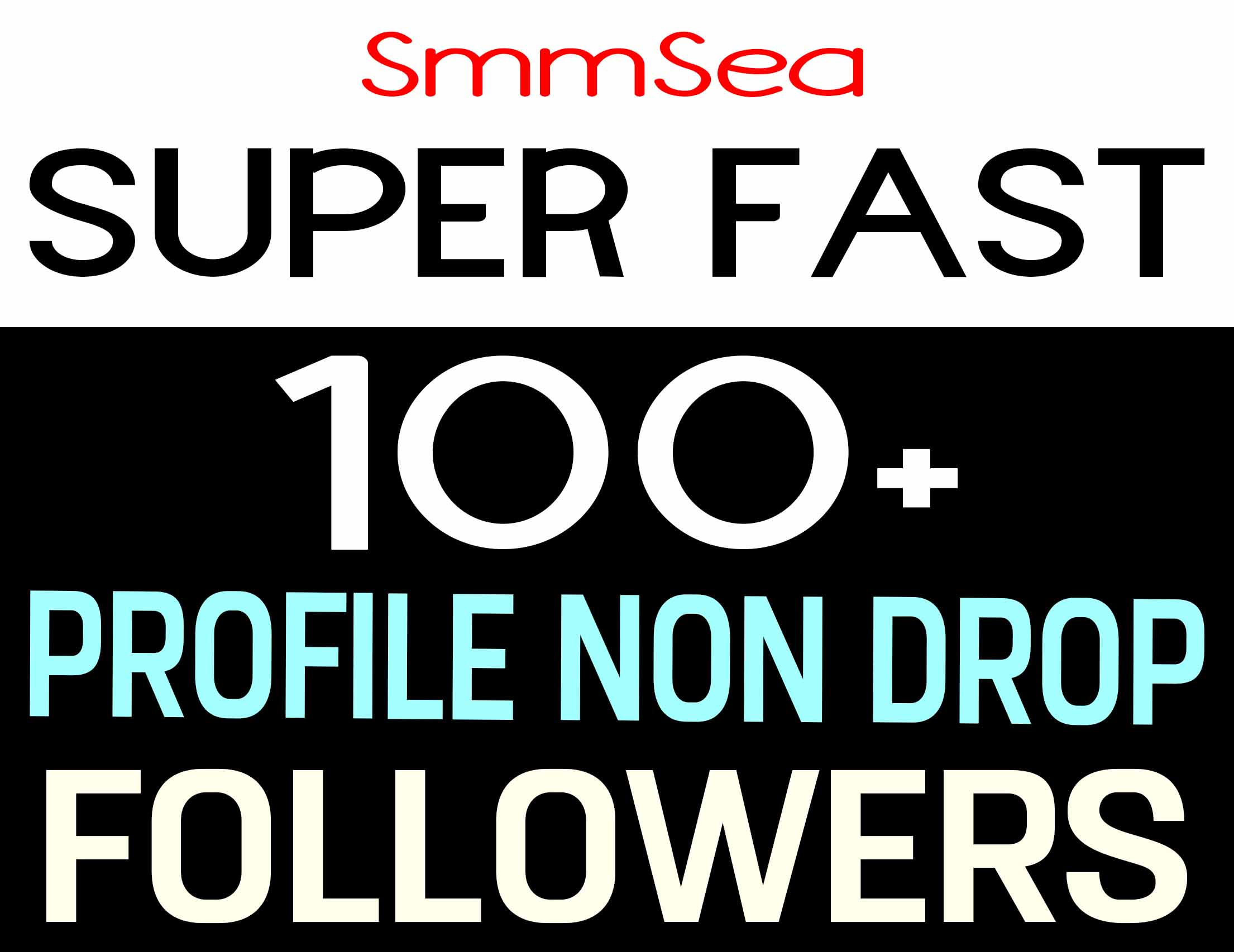 ADD 100+ PROFILE FOLLOWERS NON DROP AND HIGH QUALITY - INSTANTLY