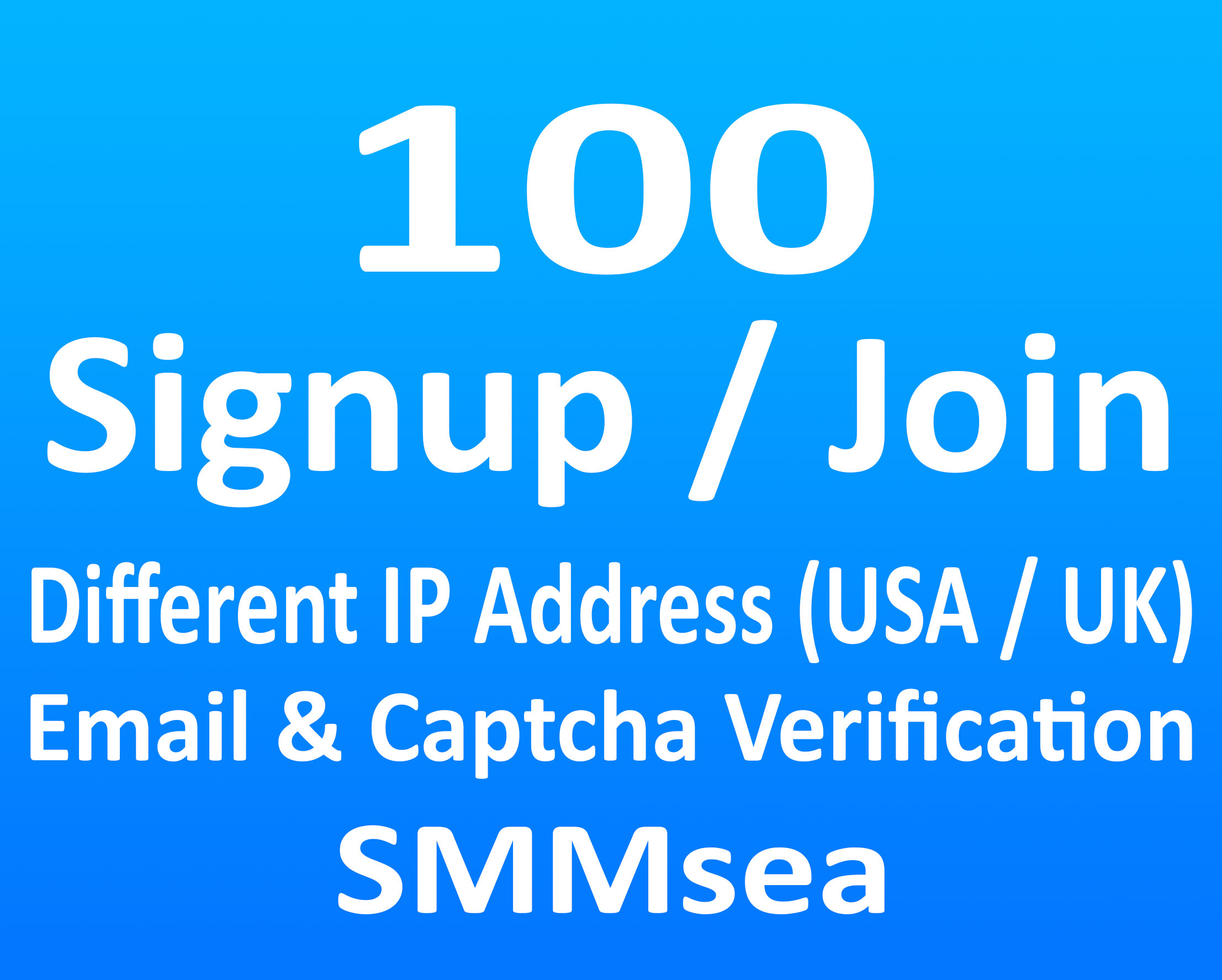 Give 100 Signup or Join for Any Website or Link with Different IP