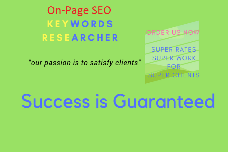 100 Low Competitive keywords