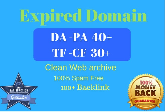 High Matrics Expired Domain Research