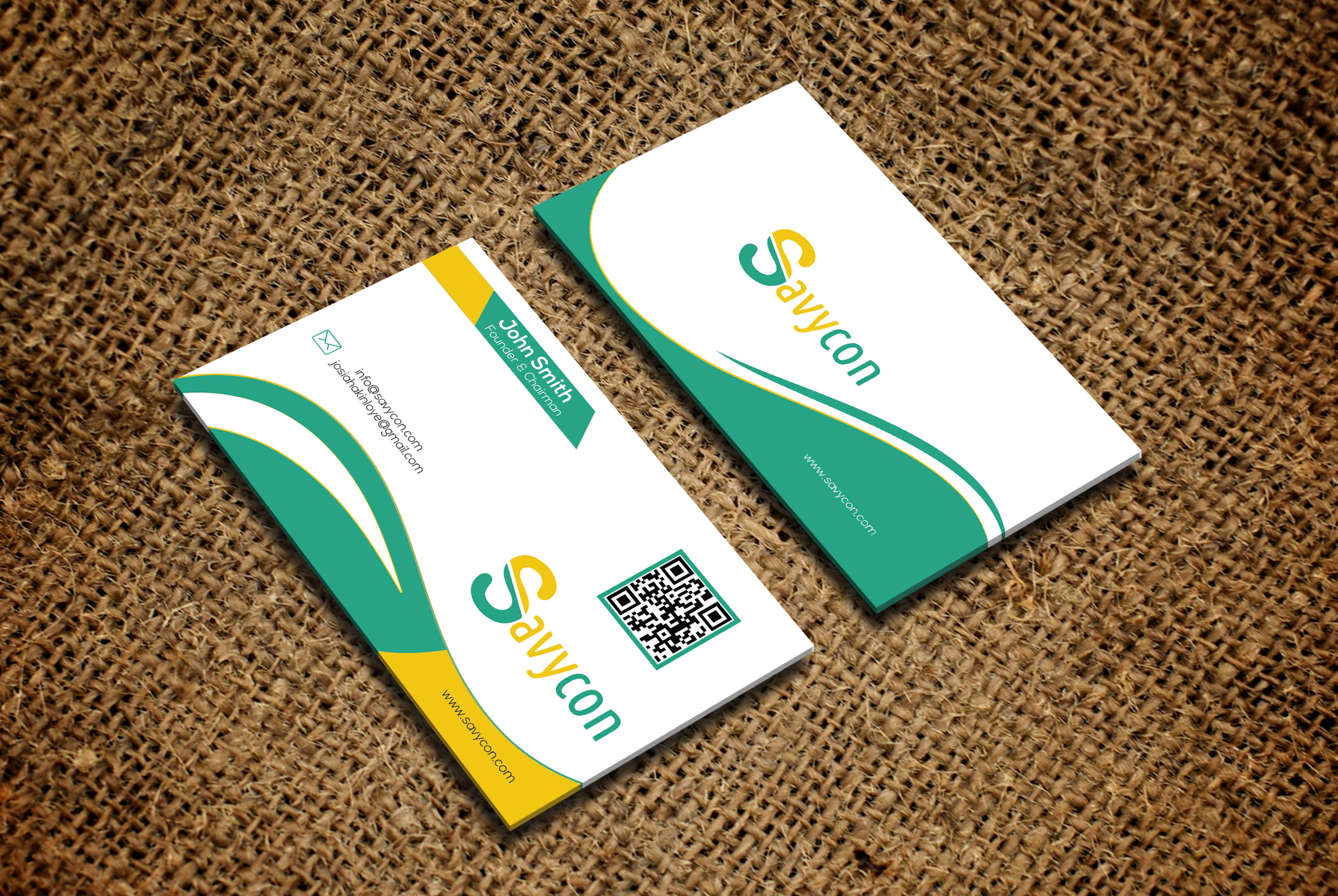 Design Modern And Clean Business Card, Id Card Etc