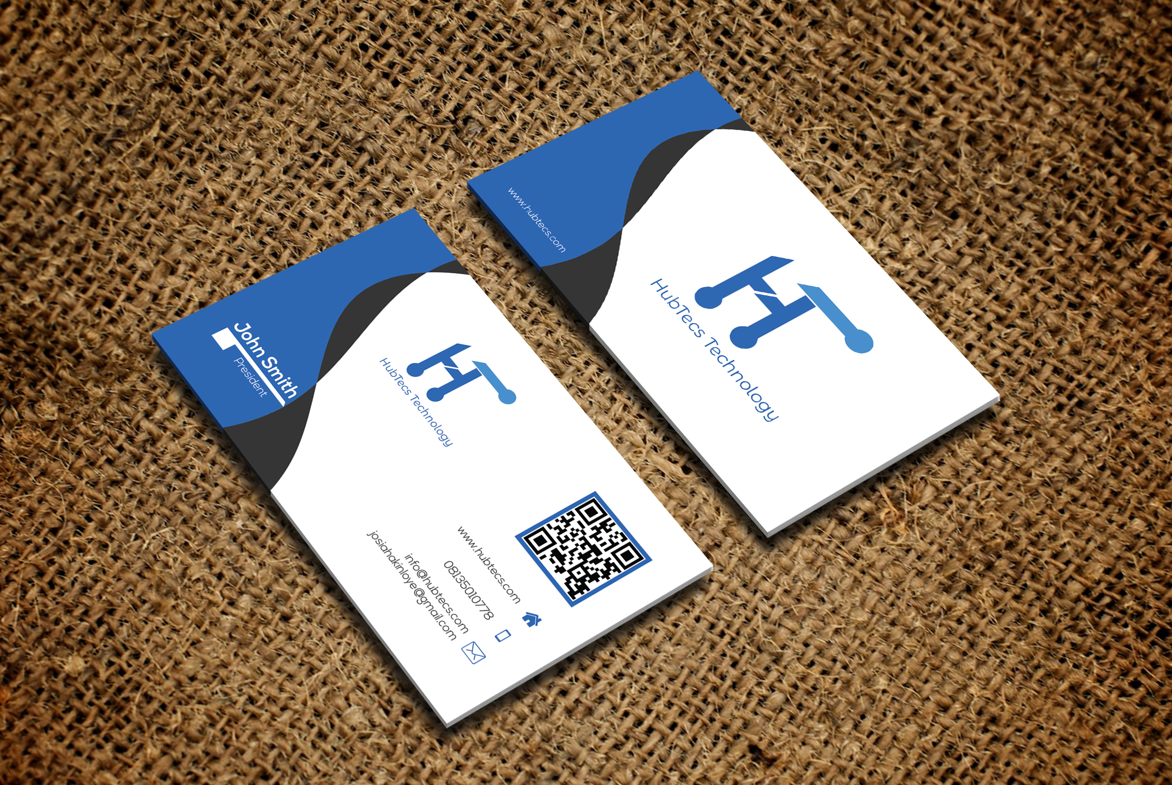 Design Modern And Clean Business Card,Id Card Etc
