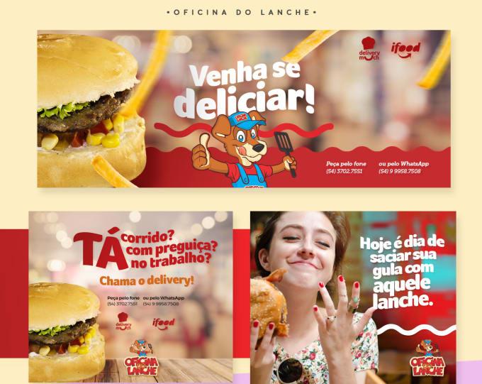 Design Social Media Banner,  Image,  Post