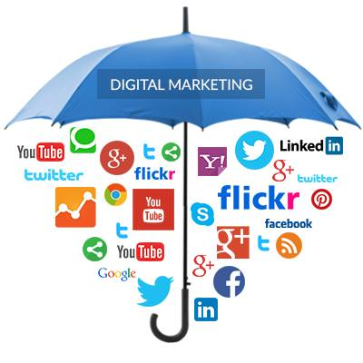 Website Promoted social media marketing and online si...