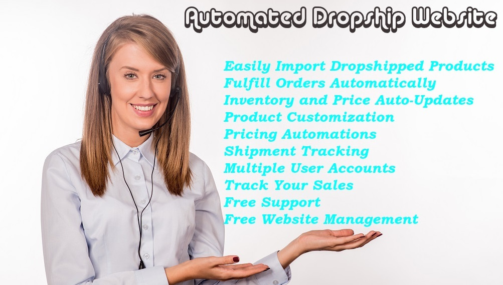 Automated Dropship Website