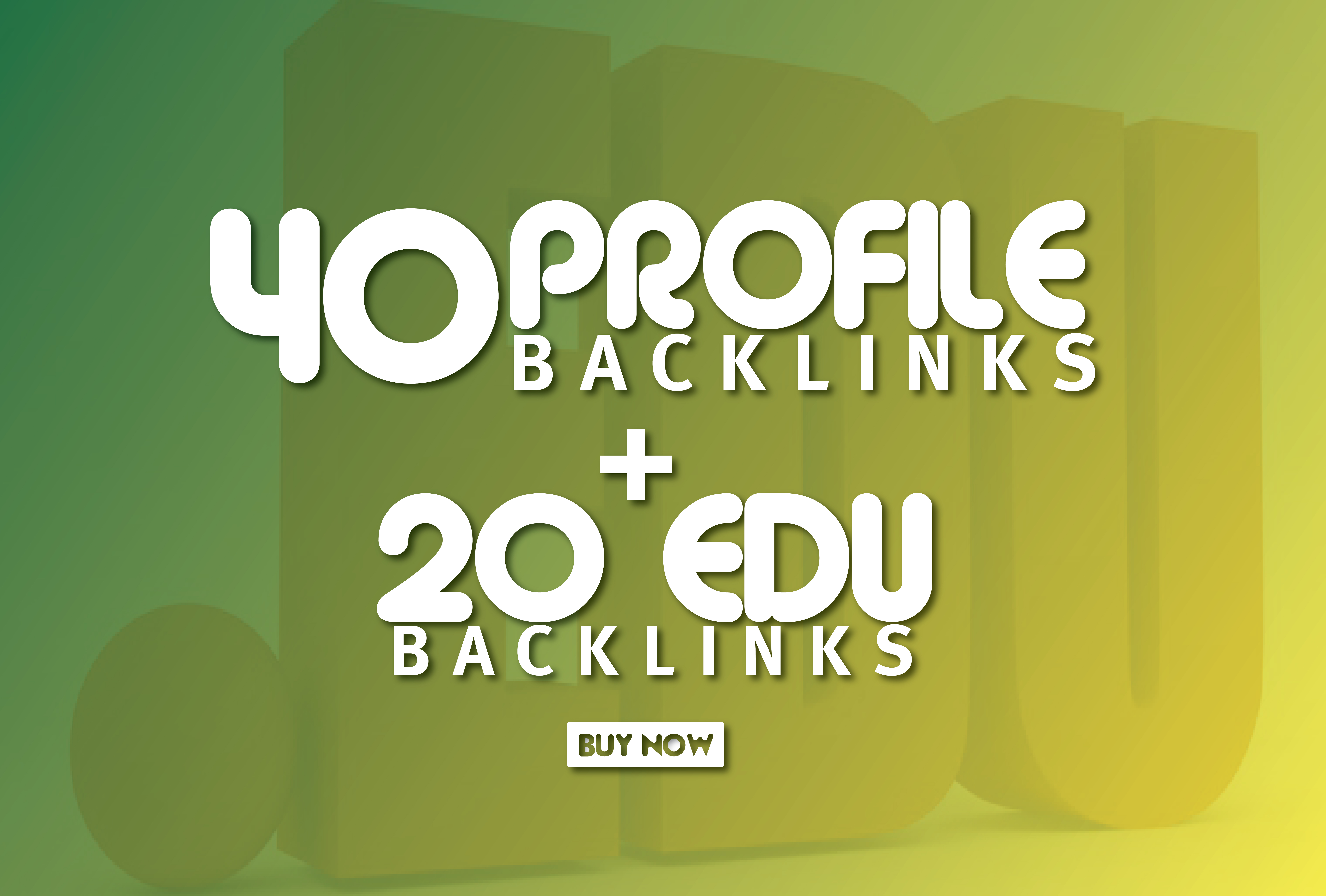 DA 70+ White Hat SEO Profile and EDU/GOV Permanent Backlinks just