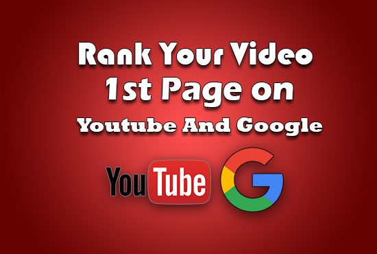 Rank Your Video On Page 1st Of Youtube And Google