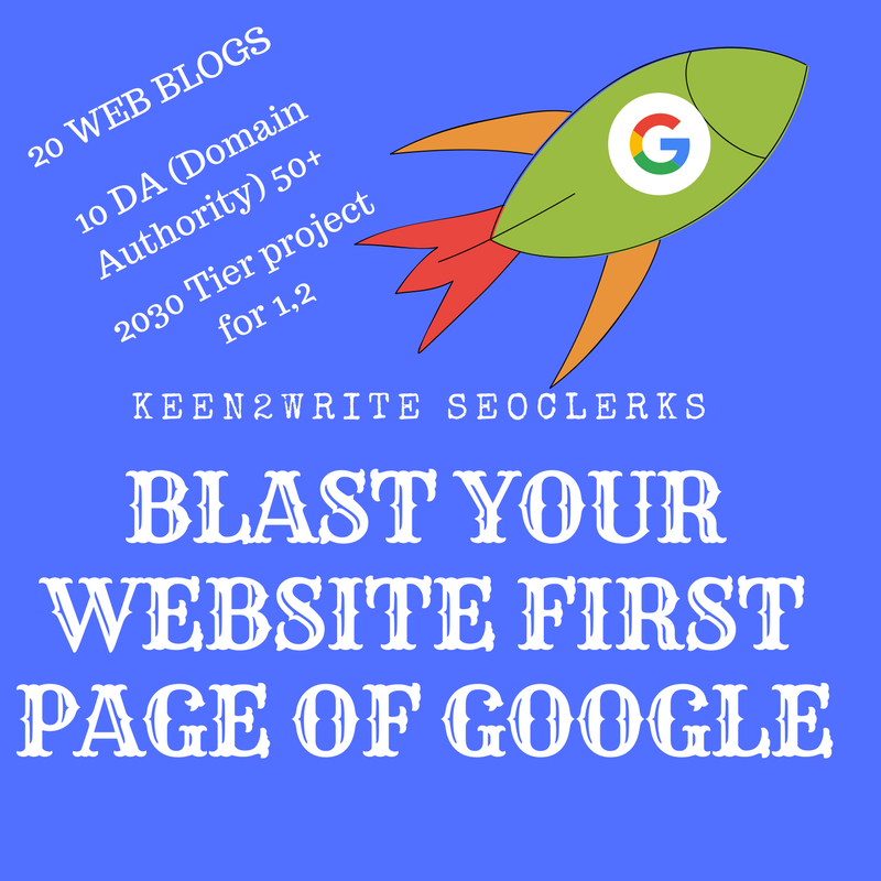 Shoot your website to Googles First Page! With BONUS 2000 Wiki Backlinks