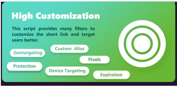 Premium URL Shortener website build