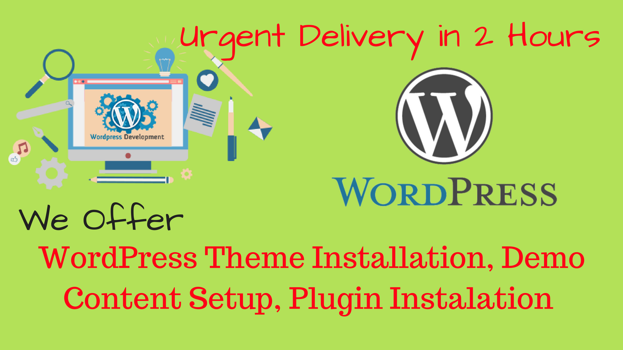 Wordpress Blog,  Theme,  And Plugin Instalation In 2 Hours