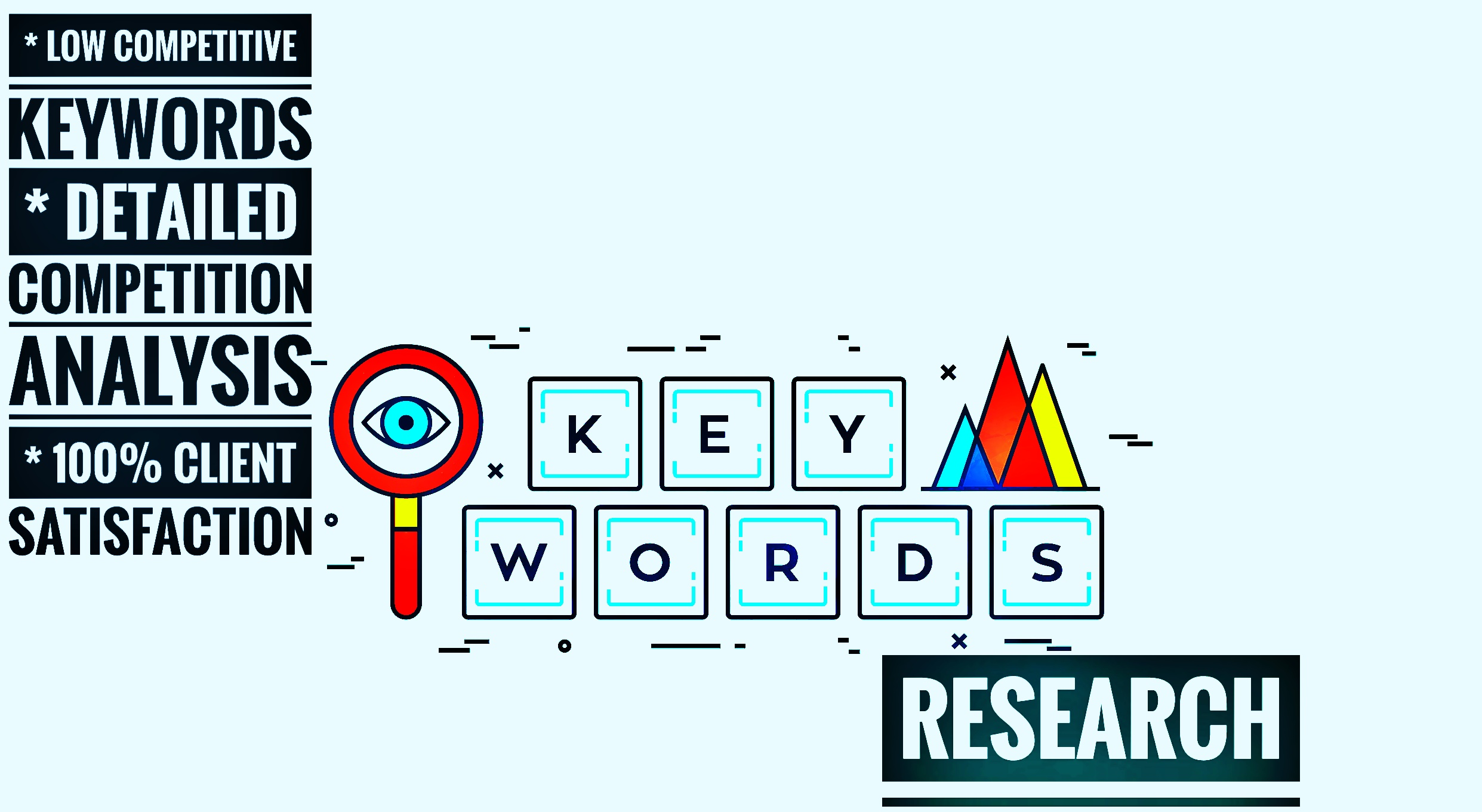 Do Professional Keyword Research & Competitor Analysis