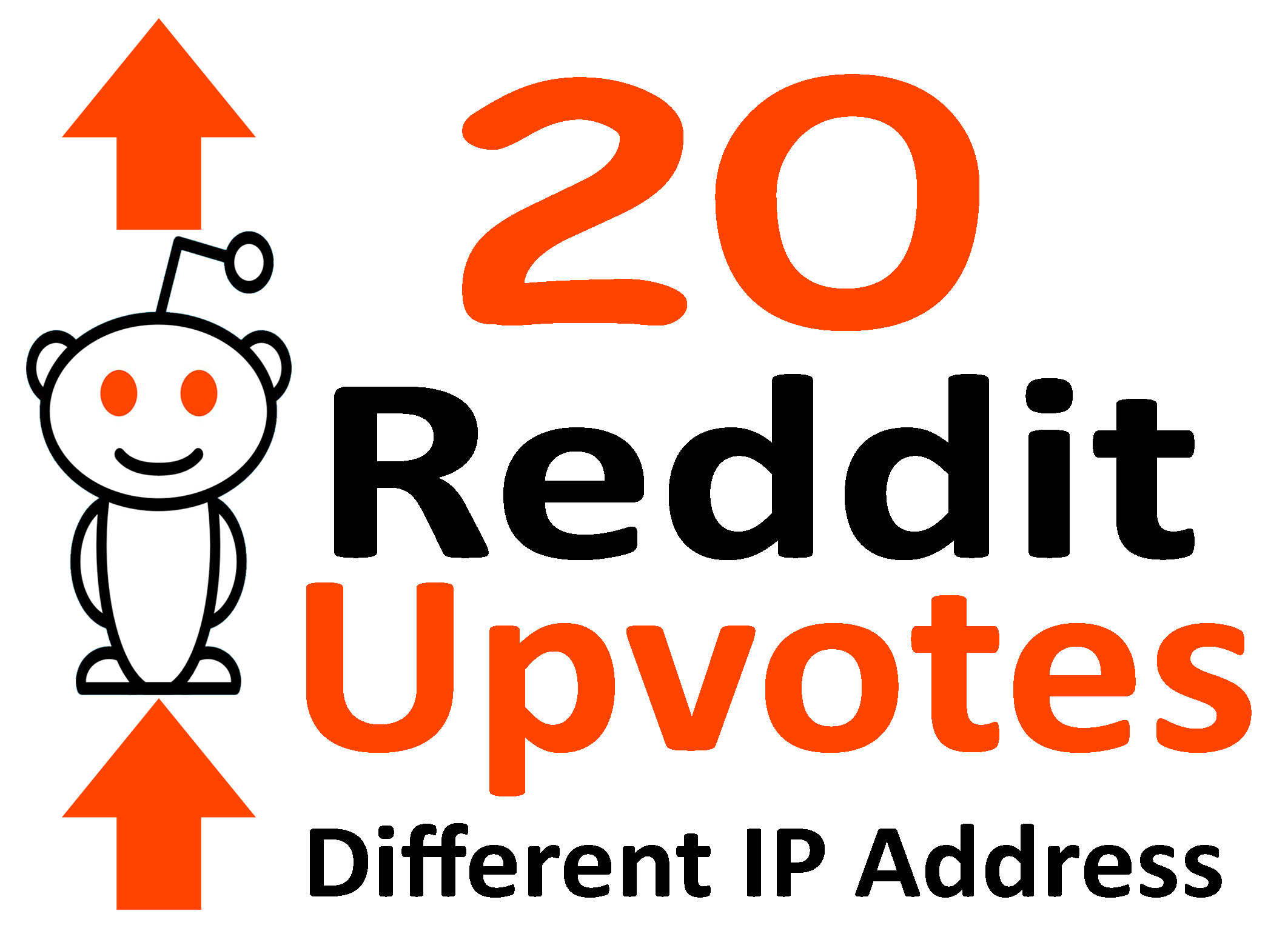 Give 20 Real Reddit Upvotes Using Different IP Address
