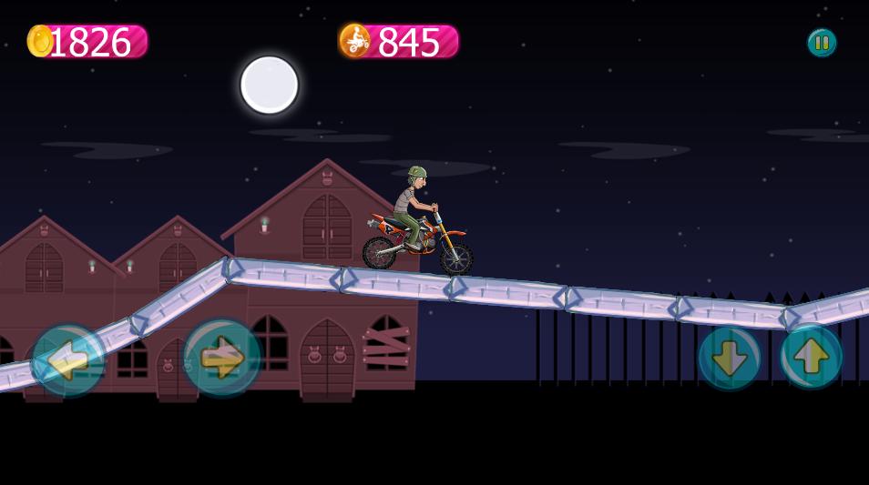 Freaky Bike -Buildbox Game Template