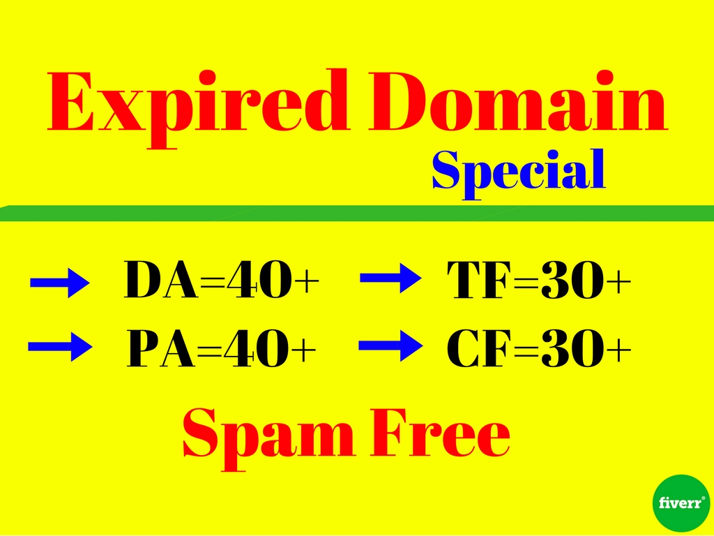 Research High Metrics 10 Expired Domain