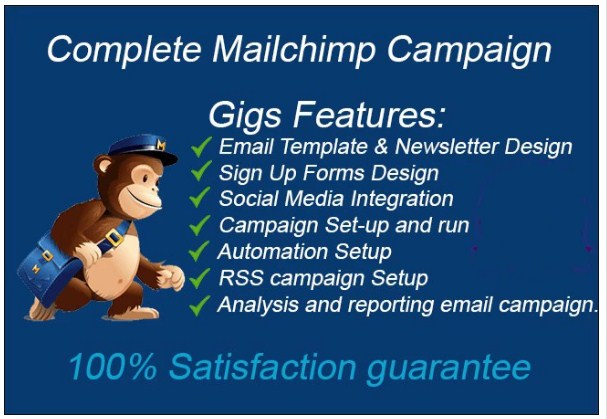 Do Setup Mailchimp List Campaign Template Auto And Workflow