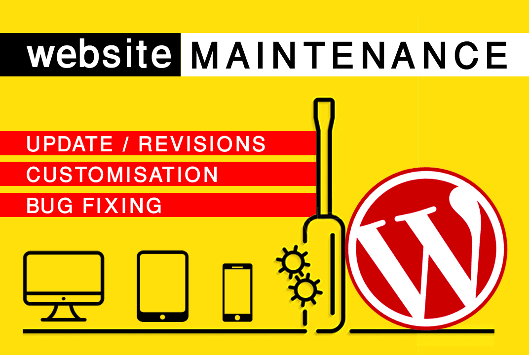 Do 1 hour of customizations / fixes / revisions in your website