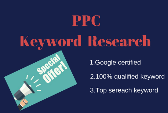 I Do Best PPC Keyword Research For You