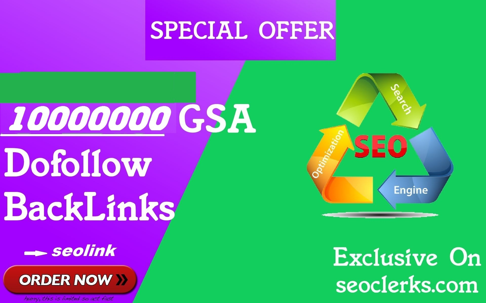 10,00000 gsa,quality backlinks to rank your site