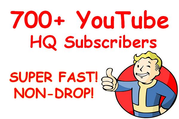 700+ YouTube HQ subscribers! VERY CHEAP!