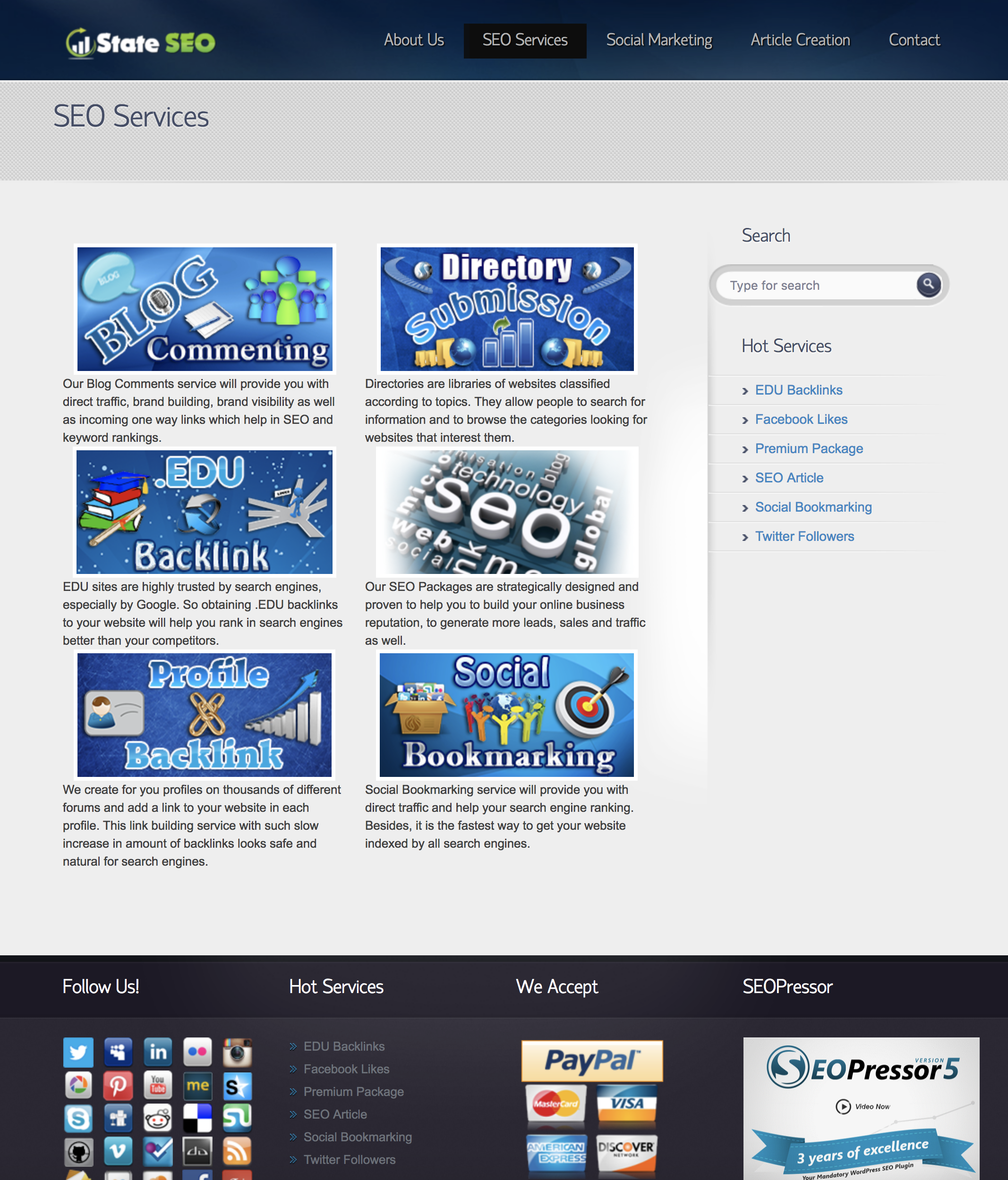 Premium SEO Reseller Site. Fully outsourced and ready to start earning