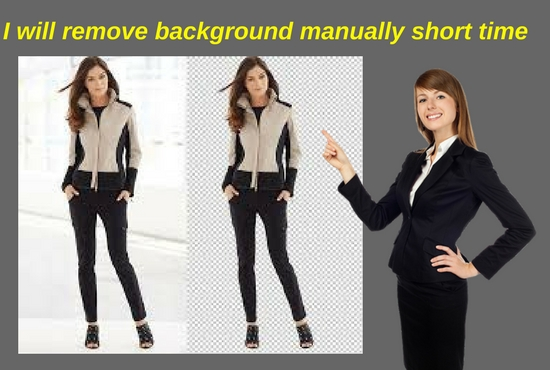 'I will' remove 30 image background very short time