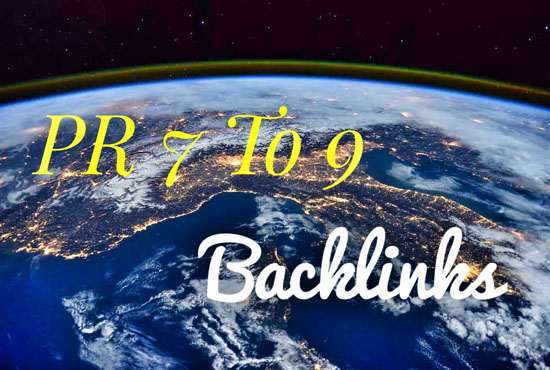 MANUALLY Submit Your Website High Quality PR7 TO pR9 backlinks